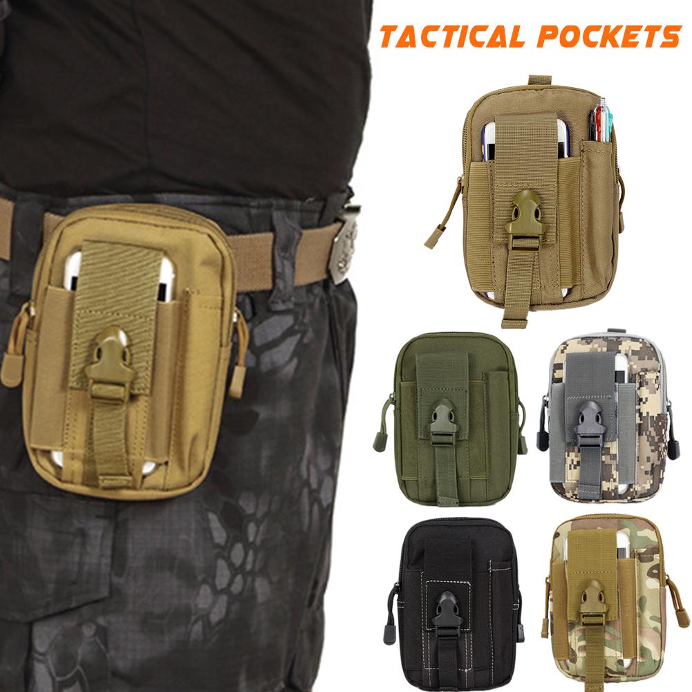 Altro nautica e imbarcazioni D30 Men Tactical Waist Bags Outdoor Sport Saddlebag Purse Mobile Phone Case for