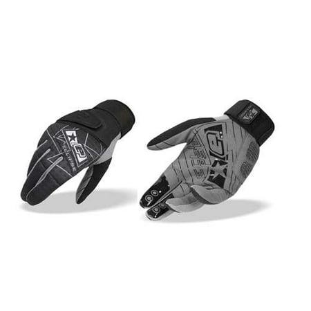 2014 Planet Eclipse GEN3 Full Finger Distortion Paintball Gloves - Black - XL