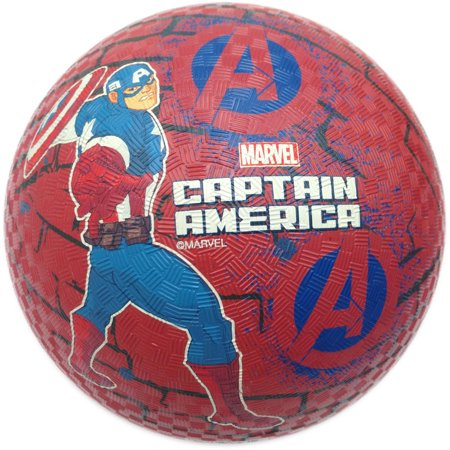 Captain America Rubber Playground Ball, 8.5
