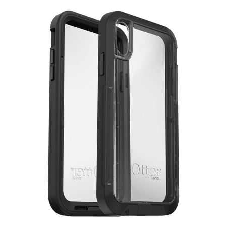 new product a5213 b708c Otterbox Pursuit Series Case for iPhone XR, Black and Clear ...