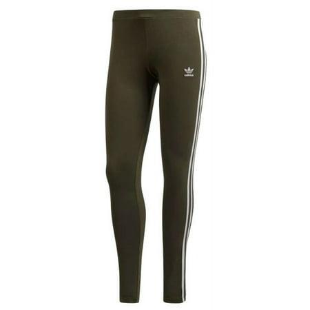 f0147a19c9b8a Adidas - Adidas Women's 3 Stripe Tight Leggings Pants Joggers Athletic  Night Cargo DH3171 - Walmart.com