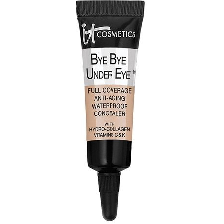 It Bye Bye Under Eye Waterproof Concealer Neutral Medium, It Cosmetics Bye Bye Under Eye Waterproof Concealer Neutral Medium/Medium (Travel Size) 0.11 oz..., By It Cosmetics