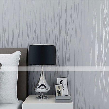 Modern Design High Class Non Woven Fabric Wallpaper Simple