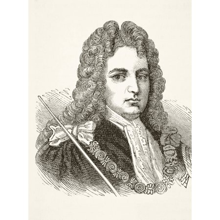 Robert Harley 1St Earl Of Oxford And Earl Mortimer 1661 To 1724 English Statesman From The National And Domestic History Of England By William Aubrey Published London Circa 1890 Stretched Canvas - (Devon Ke Dev Mahadev All Episodes English Subtitles)