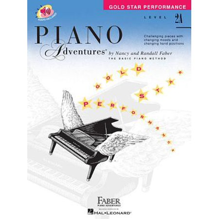 Gold Star Piano (Level 2a - Gold Star Performance with Online Audio : Piano Adventures)