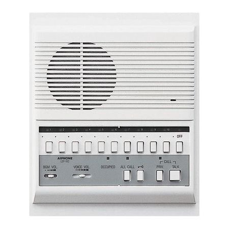 AIPHONE LEF-10C Call Audio Master Station,LE - 10c Series