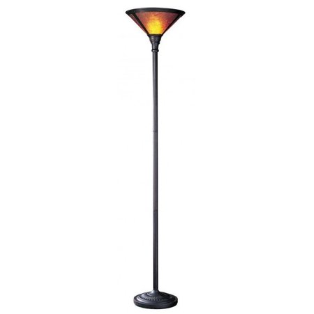 Cal Lighting Mica Torchiere Floor Lamp