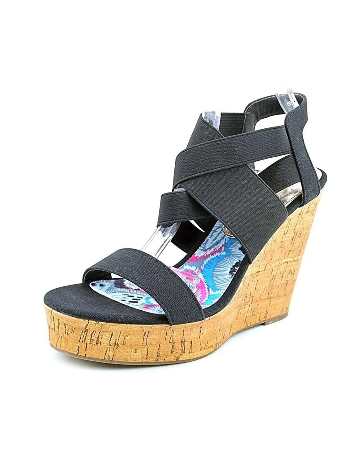 Madden Girl Women S Cactuss Boots: Madden Girl Women Eastt Wedge Sandals