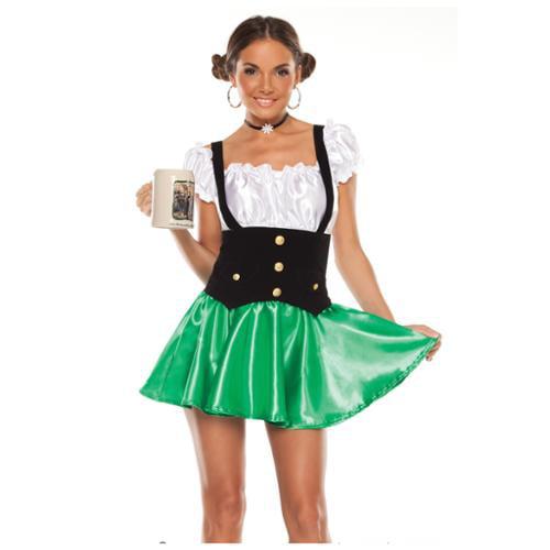 Lager Lass Oktoberfest Costume Large/Extra Large