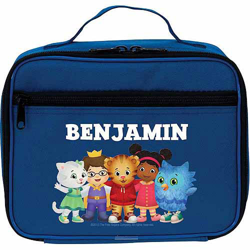 Personalized Daniel Tiger's Neighborhood Group Blue Lunch Bag