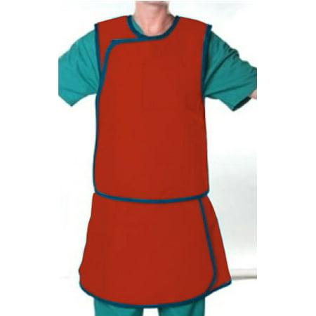 AliMed Grab 'n Go Mens Vest and Kilt Radiation Protection Apron, Ultralight Lead-Free