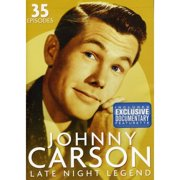 Digital1stop Johnny Carson-late Night Legend [dvd 4 Disc] by Mill Creek