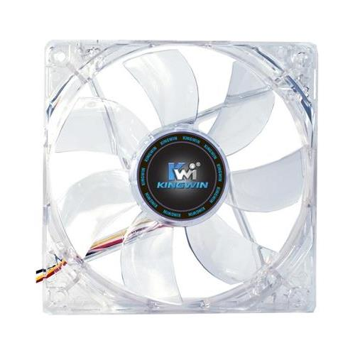 KingWin CFMC-012LB Multi-Color LED 120x120mm Long Life Bearing Case Fan
