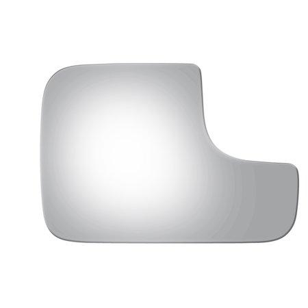 Mirror Glass for 02-09 Dodge Ram Pickup Truck Right Passenger Side Lower Flat (Dodge Truck Glass)