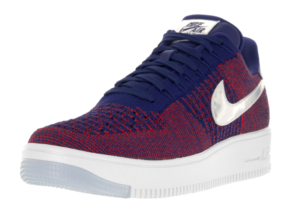 Nike Men's AF1 Ultra Flyknit Low Prm Basketball Shoe