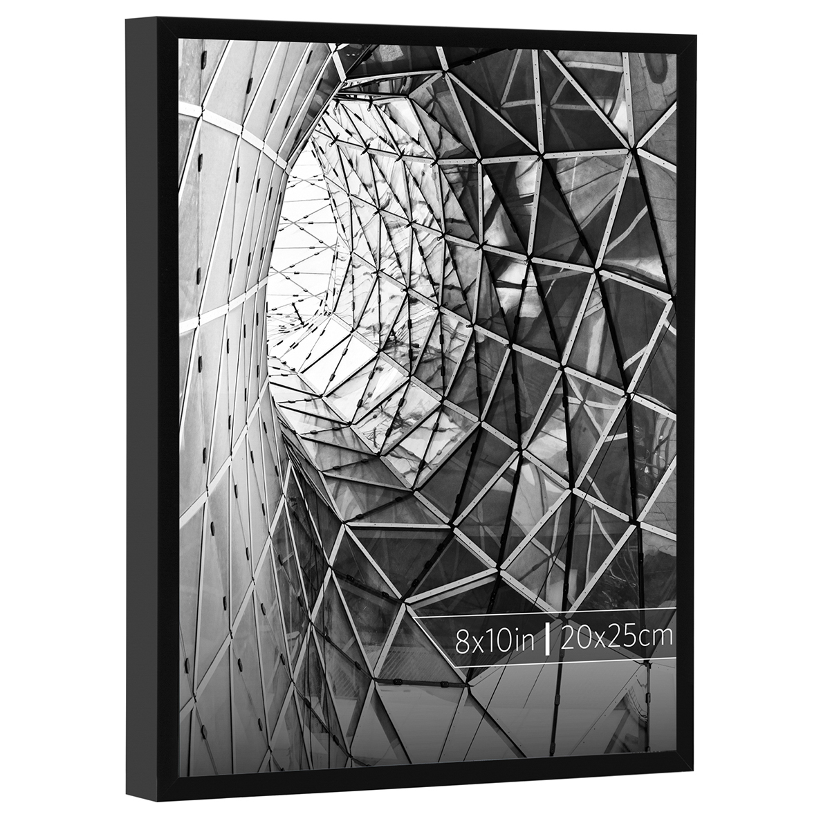 Burnes of Boston 8x10 Aluminum Gallery Frame in Smooth Black Finish