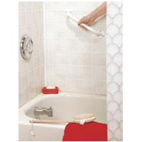 Graham Field Lumex Versaguard Enamel Coated Grab Bar Of Size: 12 Inches, Model #40033A - 1 Ea
