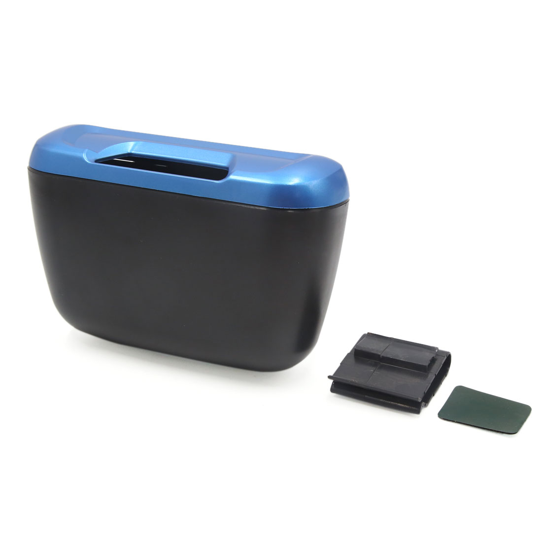 Vehicle Car Blue Trash Bin Rubbish Can Garbage Dust Case Holder Box - image 3 of 3