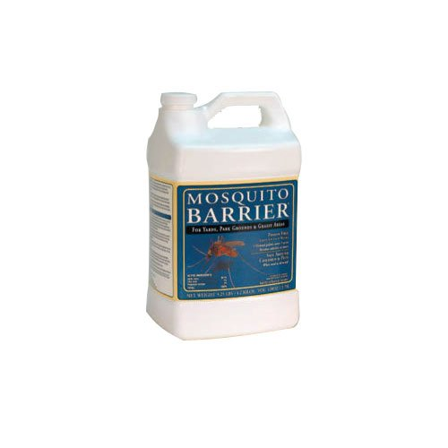 Click here to buy Mosquito Barrier MBQUARTSX20 Liquid Spray Repellent 1 Gallon 5-pack by Mosquito Barrier.