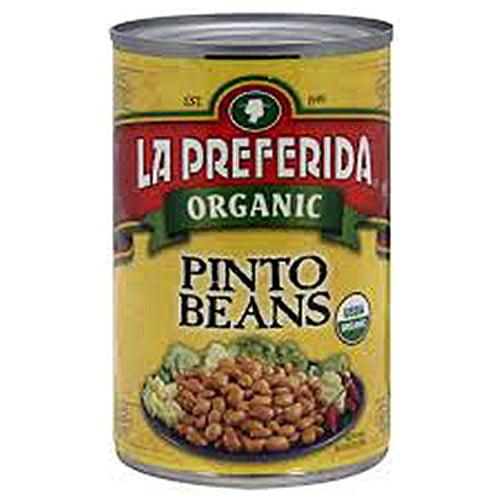 La Preferida Organic Pinto Beans, 15 oz (Pack of 12)