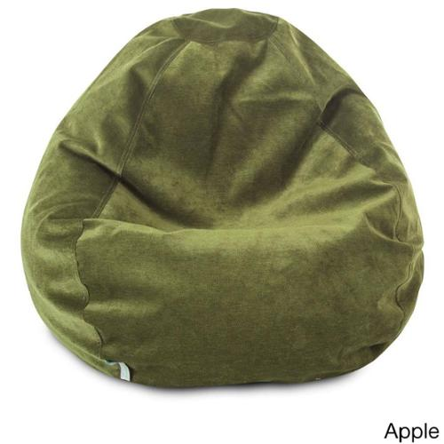 Majestic Home Goods Villa Collection Small Bean Bag Villa Apple Small Classic Bean Bag