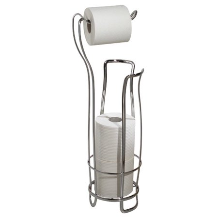 InterDesign Toilet Paper Holder and Reserve