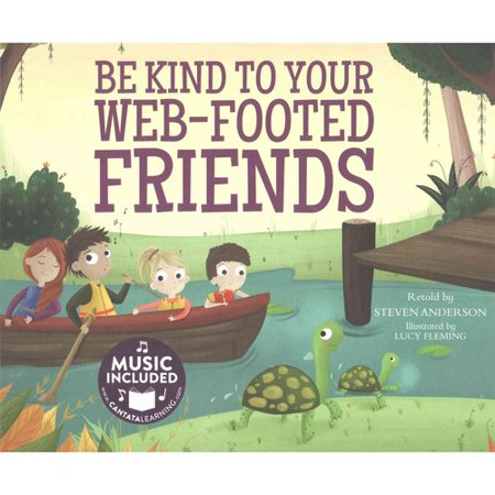 Be Kind To Your Web Footed Friends  Music Included Digital Download