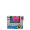 Pink Fong Baby Shark Velcro Cozy Slippers with Free Shoe Gift Box (Toddler Girls)