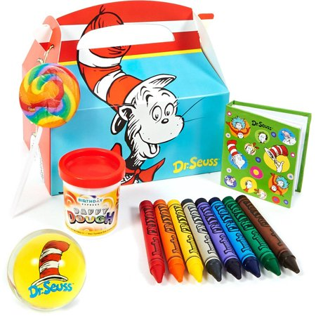 Dr. Seuss Filled Party Favor Box