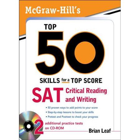 McGraw-Hill's Top 50 Skills for a Top Score: SAT Critical Reading and Writing -
