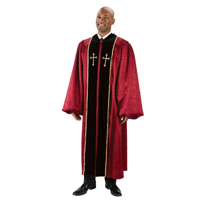 CBCS TS787BRG59 Cambridge Jacquard Pulpit Robe, 59 in.