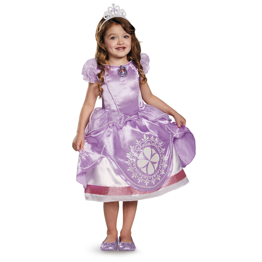Girls Disney Sofia The First Halloween Costume