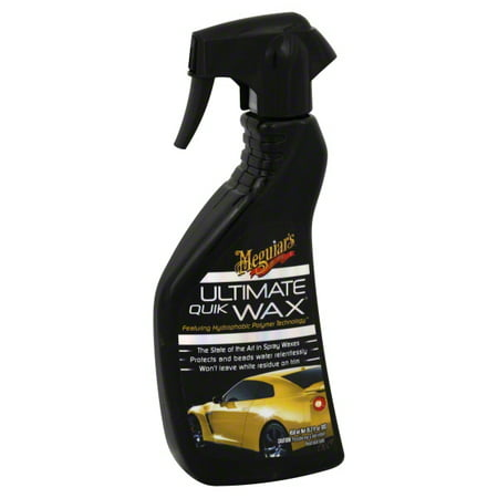 4 Ounce Wax Remover (Meguiar's G17516 Ultimate Quik Wax, 15.2 Fluid)