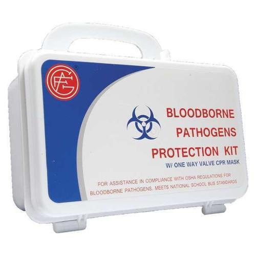 Bloodborne Pathogens Protection Kit, Genuine First Aid, 9999-2313