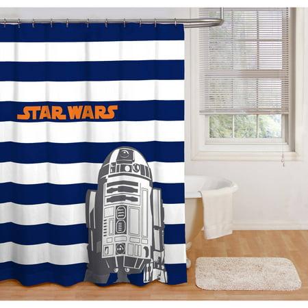 Star Wars PEVA Shower Curtain 1 Each