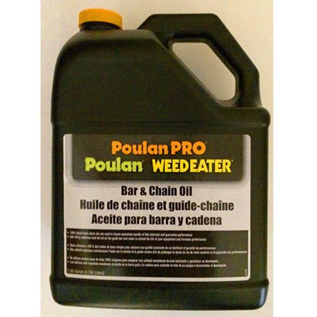 Poulan Pro Bar And Chain Saw Oil In 1 Gallon Bottle  3 78 Liters
