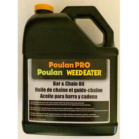 Poulan Pro Bar And Chain Oil  1 Gallon Bottle