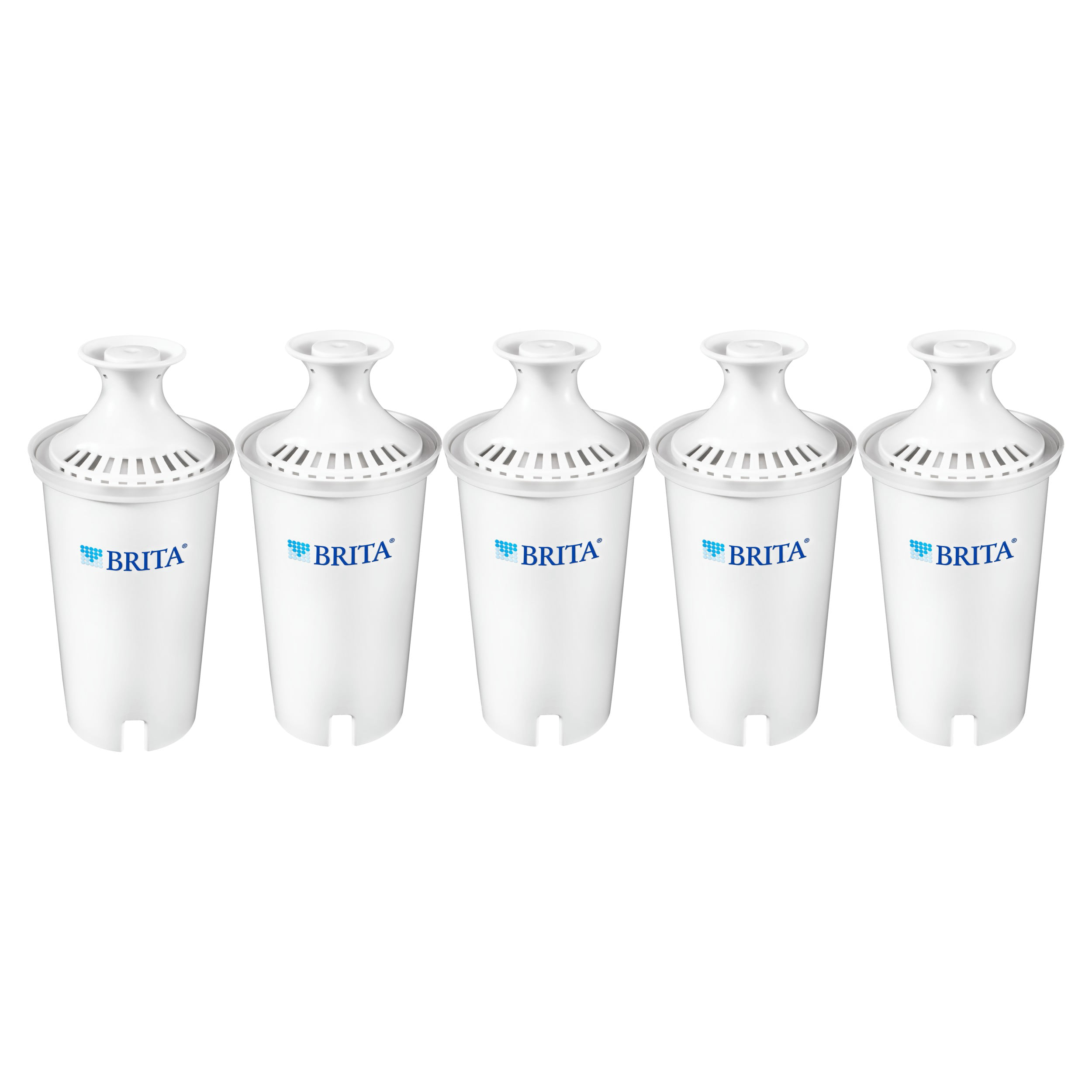 8 Count Brita Standard Replacement Pitcher Water Filters 4 Count x 2