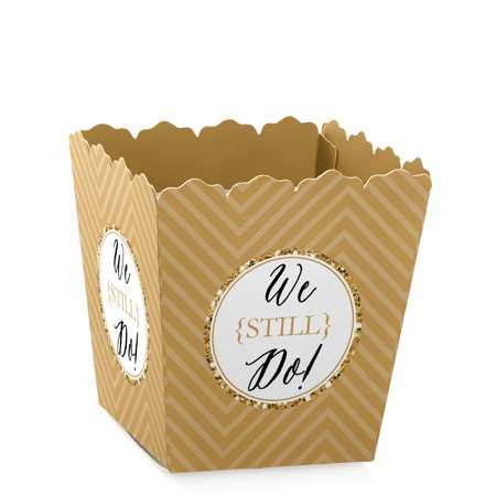 We Still Do - 50th Wedding Anniversary - Party Mini Favor Boxes - Anniversary Treat Candy Boxes - Set of - Wedding Anniversary Favors