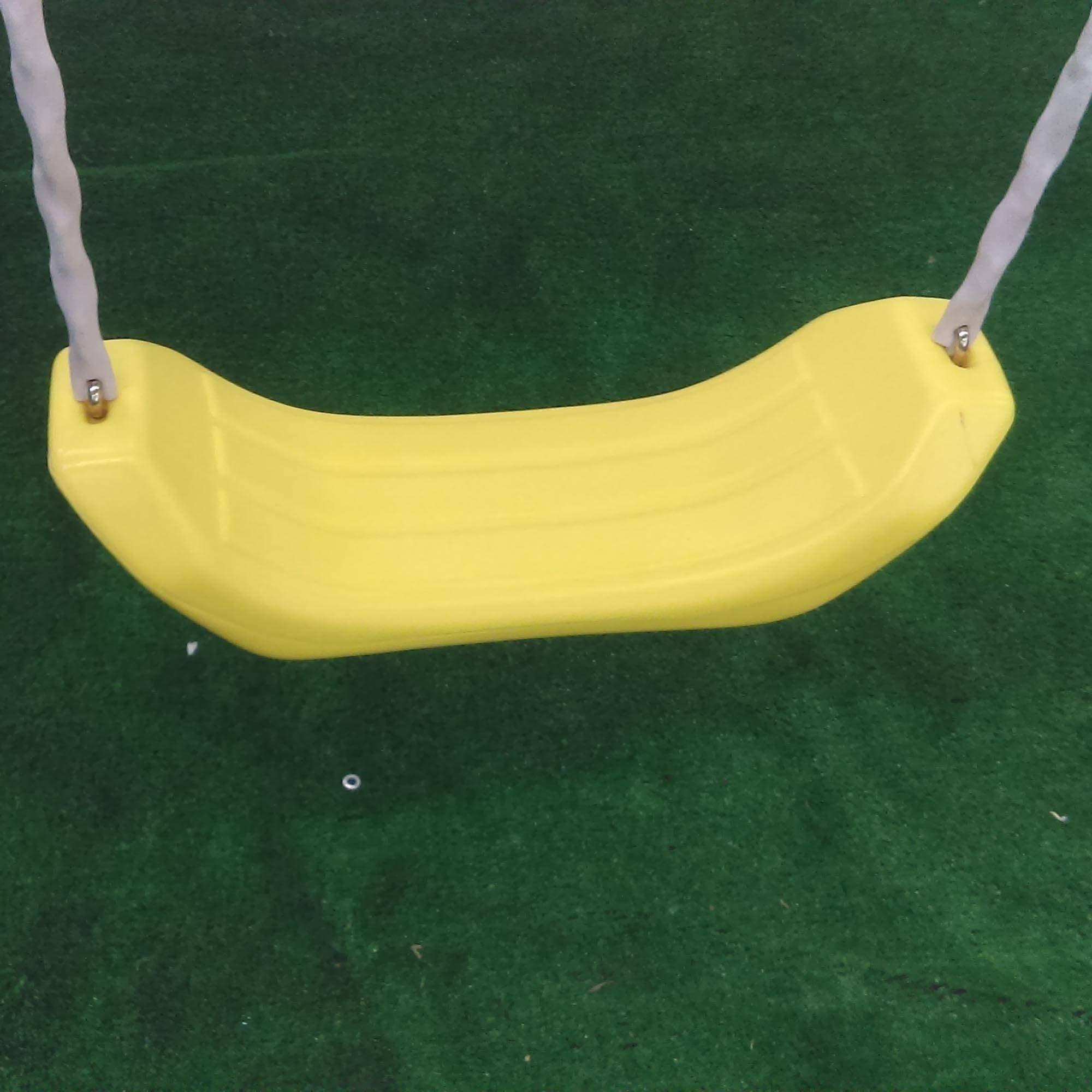Flexible Flyer Yellow Kid Comfort Swing Assembly