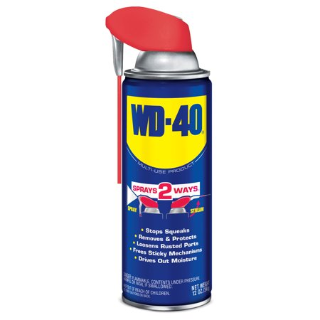 WD 40 Multi Use Lubricate With Smart Straw, 12 Oz