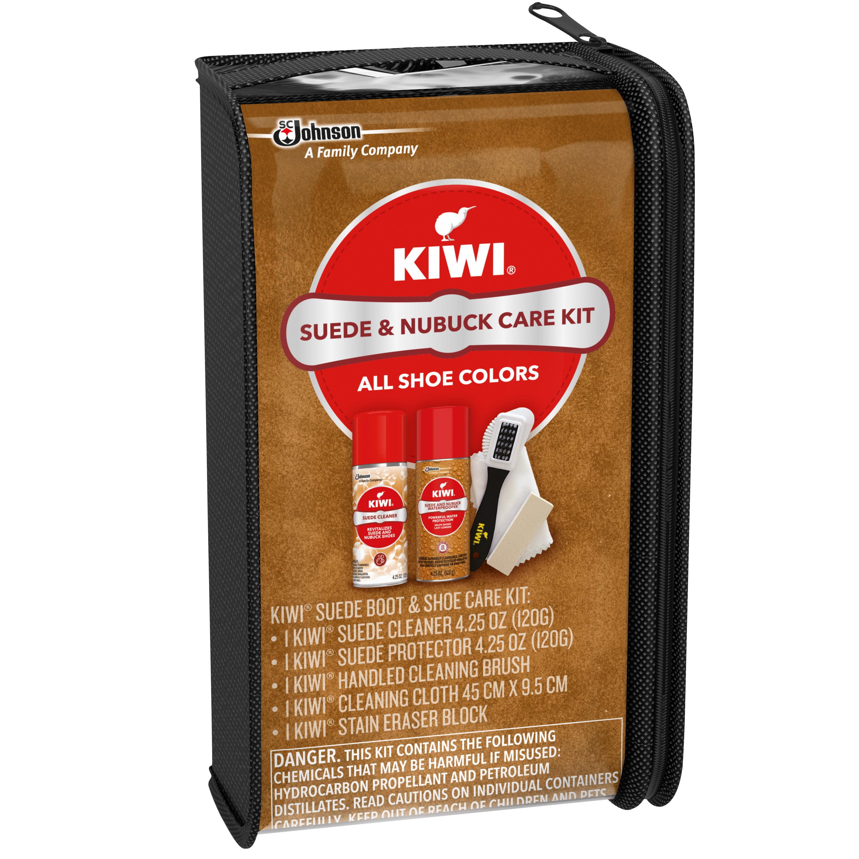 KIWI Suede Boot \u0026 Shoe Care Kit