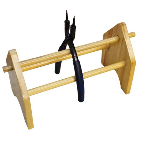 Wood Plier Rack Wooden Pliers Rack Storage Jewelers Tool Accessory Tool Holder