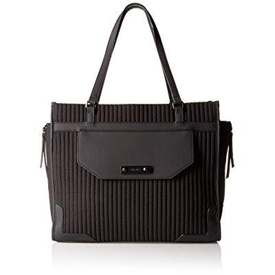 Nine West The Sporting Life Winged Tote Md  Black Black