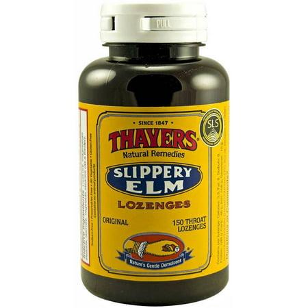 Thayers Original Slippery Elm Lozenges, 150 CT