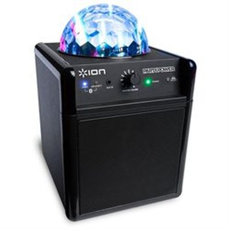 Refurbished ION Audio Party Power Wireless Speaker System Party Time Built-in Light Show