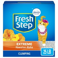 Fresh Step Scented Litter With The Power Of Febreze, Clumping Cat Litter - Hawaiian Aloha (Multiple Sizes)