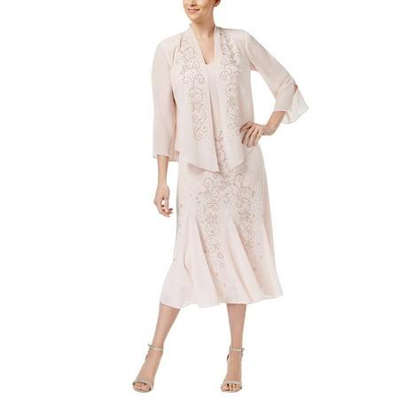 315960aa8f5 R M Richards - R M Richards Women s Beaded Jacket Dress - Mother of the Bride  Dresses - Walmart.com