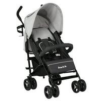 Dream On Me Jasper Lightweight Stroller in Grey