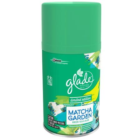15525c25f52e 046500771835 UPC - Glade Match Garden Green Tea & Aloe Automatic ...